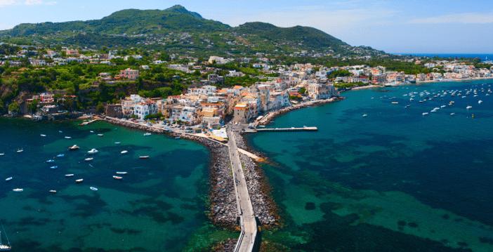 Ischia town from castello aragonese_Villa Italy