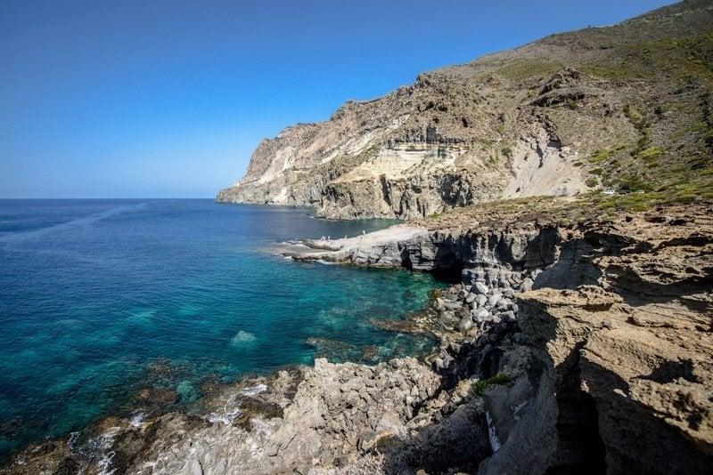 Pantelleria coastline