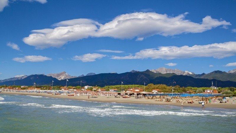 beach forte dei marmi_Villa Italy