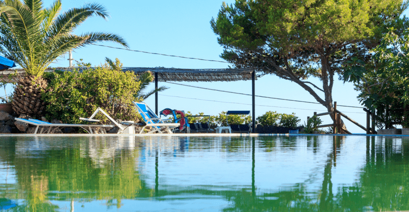 salt water pool _Thermal Gardens_Ischia_Villa Italy