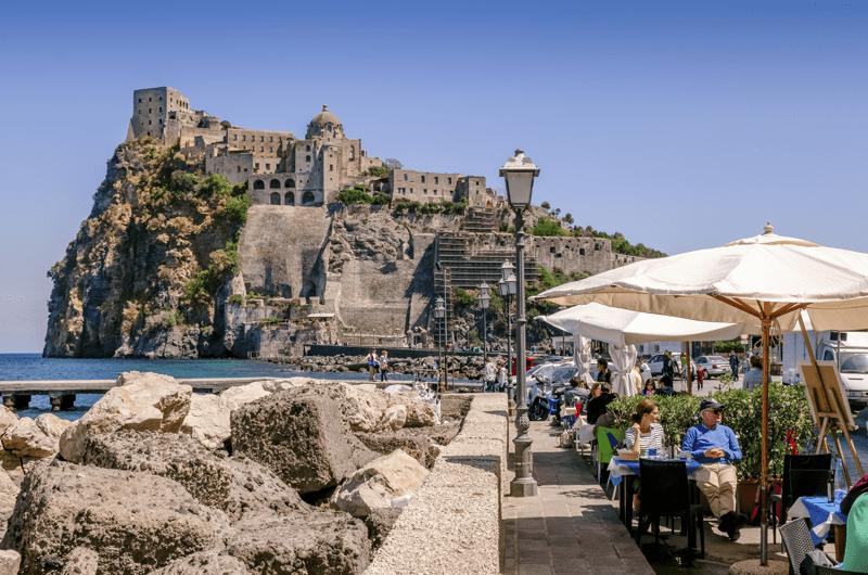 Ischia reasons to visit_Castello Aragonese_Villa Italy