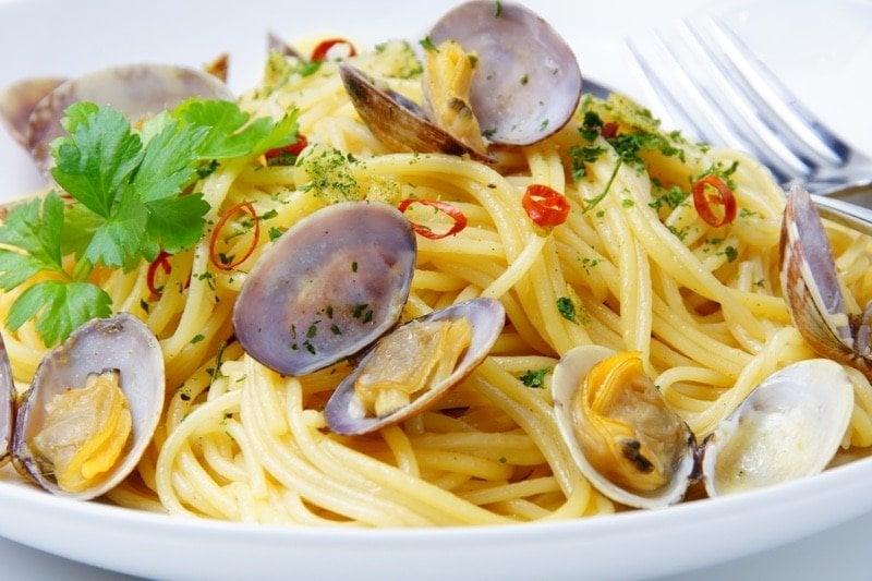 spaghetti vongole_Ischia_Villa Italy