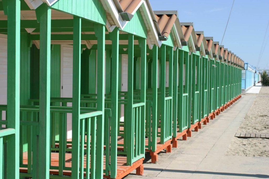 Beach huts Forte Dei Marmi