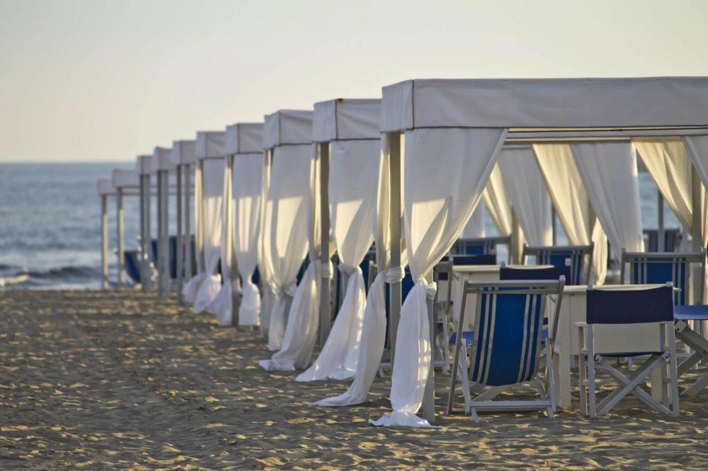Beach tents Forte Dei Marmi
