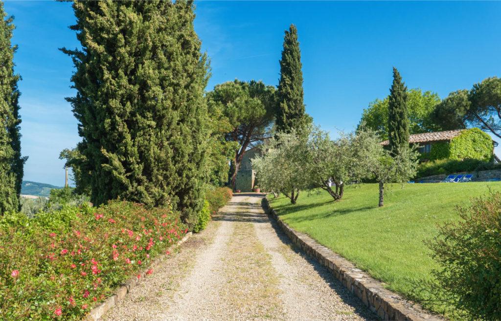 Villa Prenzano Overview - Chianti- Tuscany