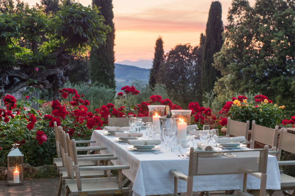 Villa Prenzano Dinner Table Outdoor