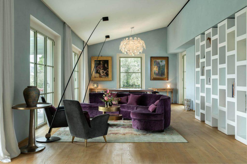 Villa Dimora Bellosguardo Living Room