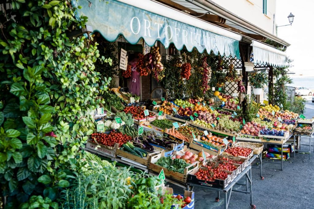 Fruit shop in Ischia, Italy