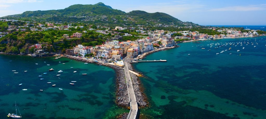 Ischia Town Air View