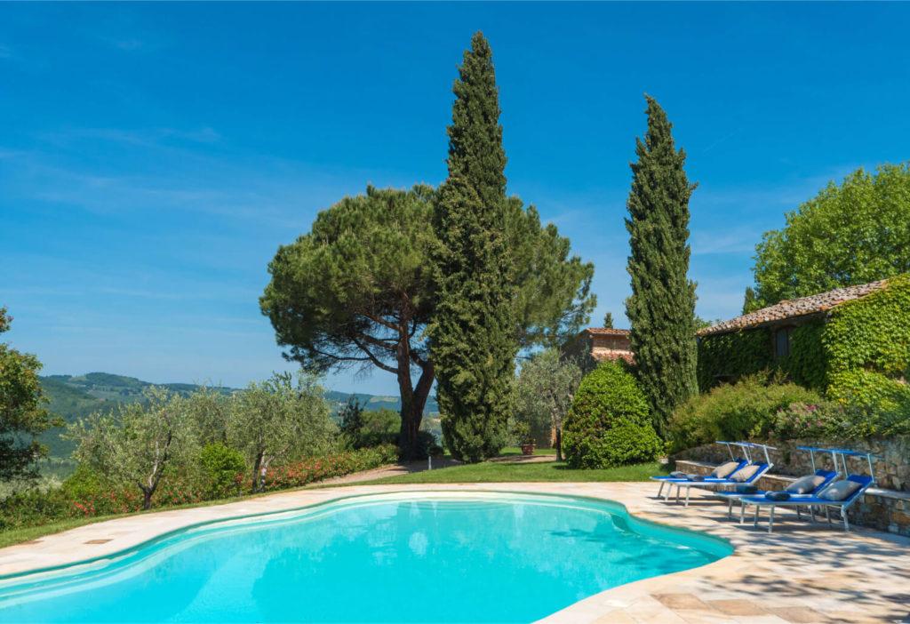 Villa Prenzano Pool Area - Garden
