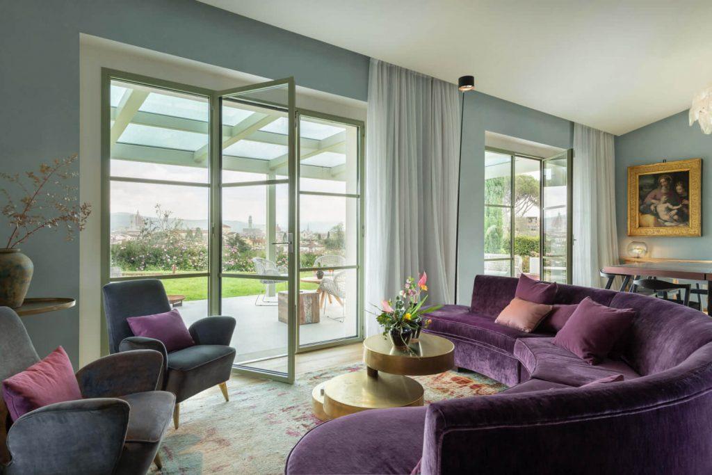 Villa Dimora Bellosguardo Living Area