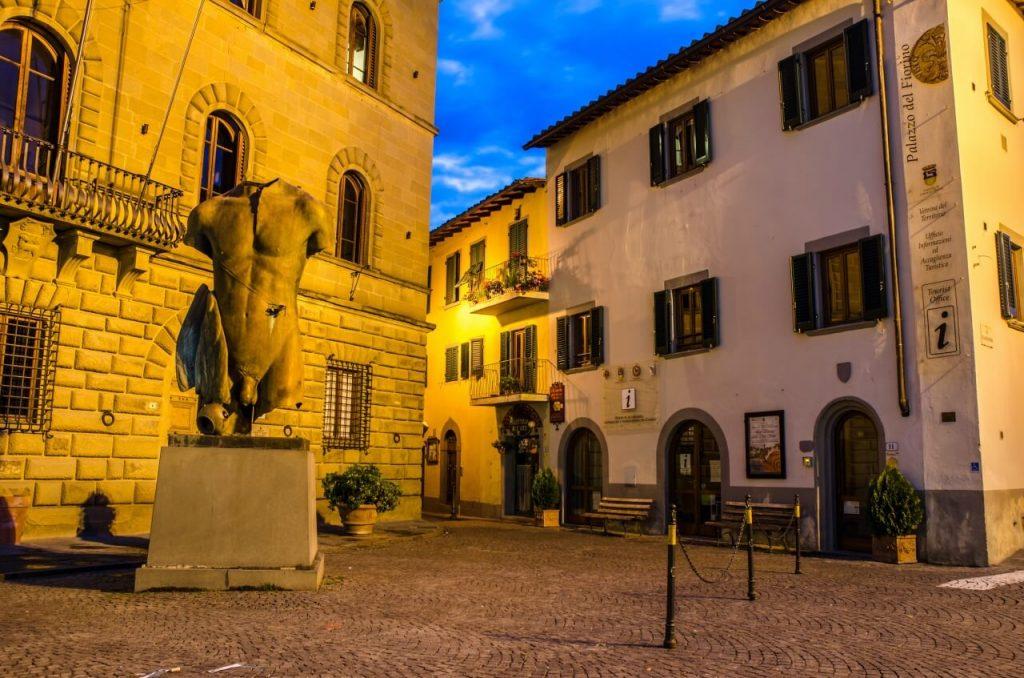 Greve square Chianti Italy