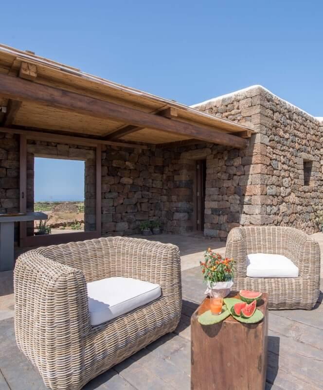 Corte Pantesca II Outdoor Sofas - Villa Italy