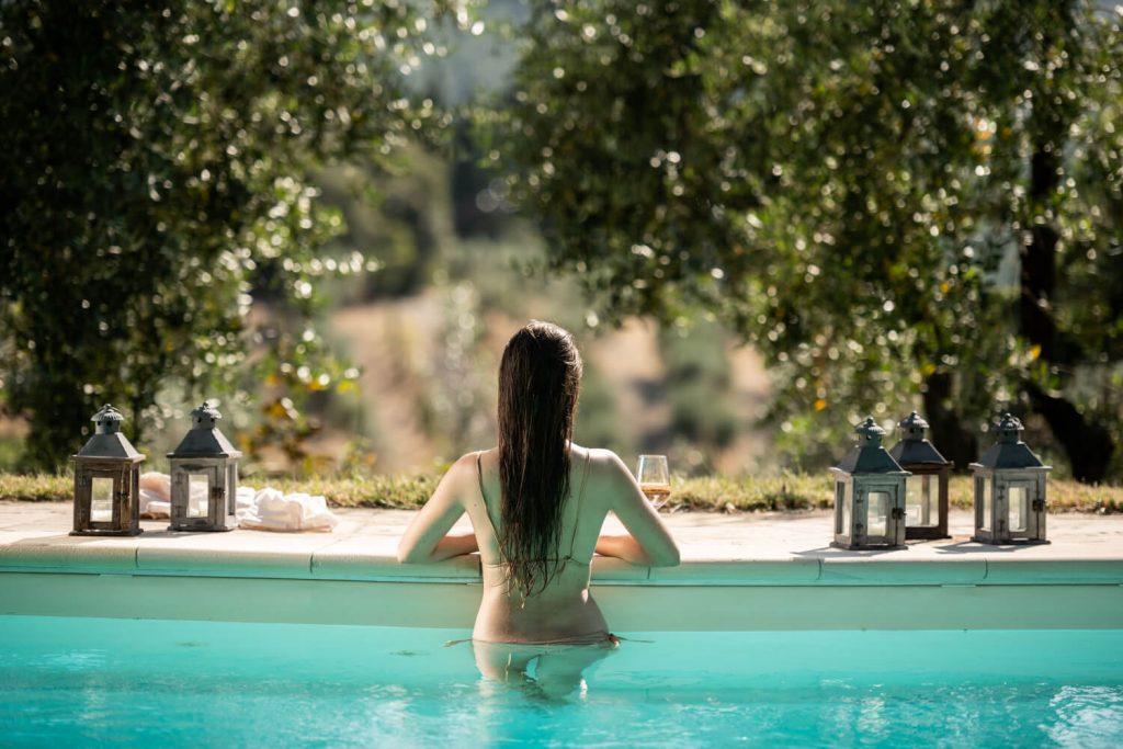 Villa Prenzano Pool Views - The Villa Italy