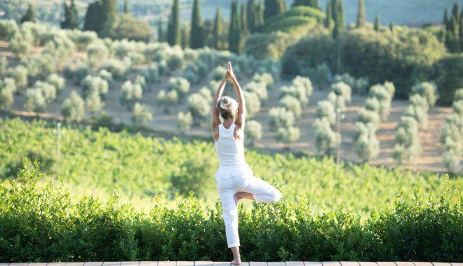 Yoga at Villa Prenzano