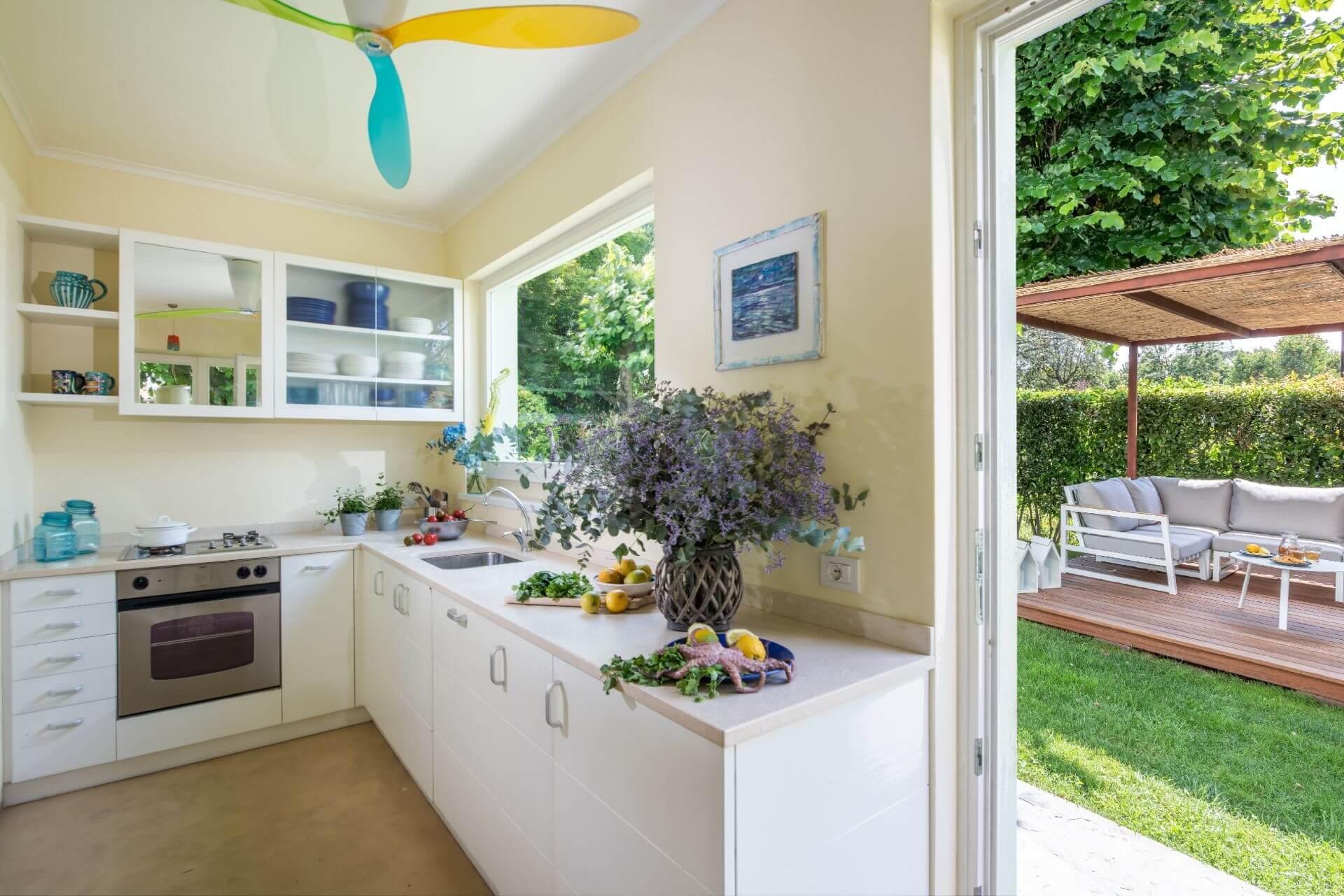Villa Monti di Luna Kitchen Area