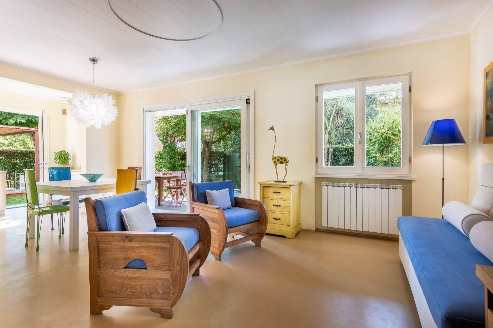 Villa Monti di Luna Living Area